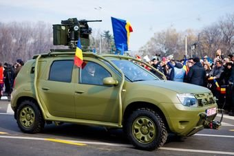 Dacia Duster забронировали для румынской армии