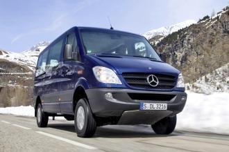 Mercedes-Benz Sprinter 2014 приобрел качества внедорожника