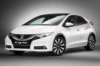 Honda слегка обновила хэтчбек Civic