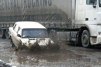 В России растет количество ДТП из-за ремонта дорог