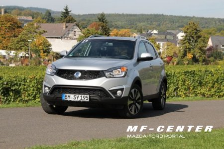 Тест драйв ssangyong actyon
