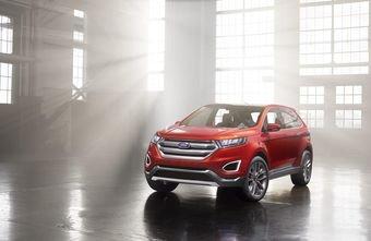 Ford представил предсерийный концепт будущего глобального кроссовера