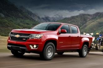 Пикап Chevrolet Colorado дебютировал в Сети