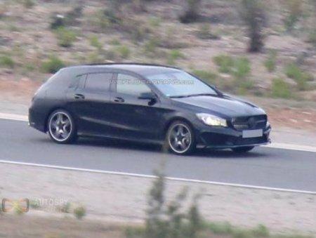 Первые шпионские фотографии Mercedes CLA Shooting Brake