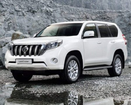 Цены на новый Toyota Land Cruiser Prado 150 2014 в России